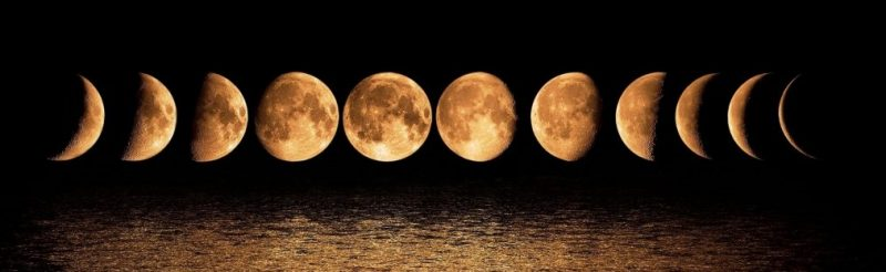 Убывающая луна в июле 2019 г - когда с какого числа изоражения